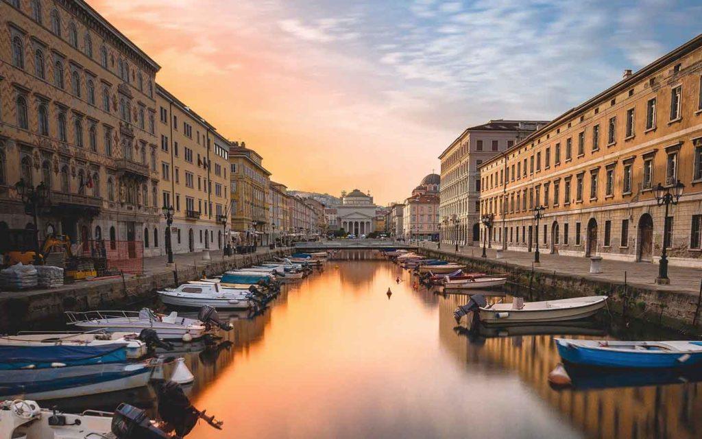 Najkrajšie miesta v Európe - Trieste, Taliansko